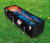 guitar grass coffin