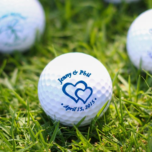 Personalized Funeral Golf Balls