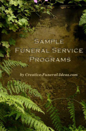 Sample Funeral Services
