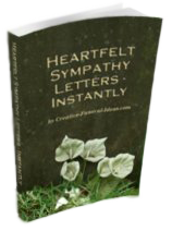 Heartfelt Sympathy Letters