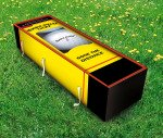 Golf Grass coffin